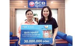 SCB trao tặng những chuyến du lịch giá trị cho khách hàng