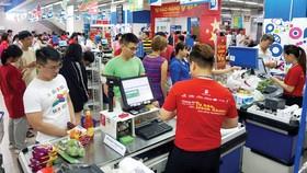 """""""Tự hào hàng Việt"""" luôn là chương trình thu hút được sự ủng hộ của đông đảo người tiêu dùng"""