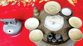 Ancient artifacts found in Ha Tinh Province