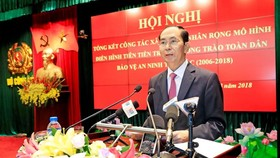 Ton Duc Thang (R) is the first president of the reunified Socialist Republic of Vietnam from 1976 - 1980 (Photo: VNA)