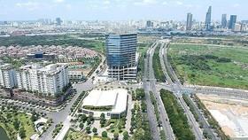 Thu Thiem New Urban Area in District 2