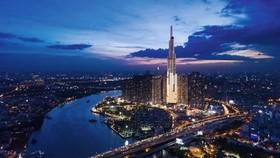 A view of Vingroup's Vincom Centre Landmark 81 in HCM City (Photo: forbesvietnam.com.vn)