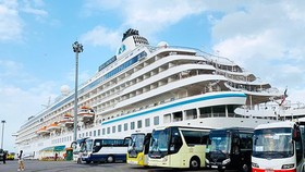 HCMC tightens control over Crystal Symphony cruise ship