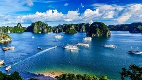 A view of Ha Long Bay, a famous tourism site in Vietnam. The country's tourism industry is estimated to have losses of  US$7.7 billion due to the pandemic. ( Photo baovanhoa.vn)