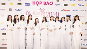 The kick-off ceremony is attended by many beauty queens who were winners of contests in the past years.
