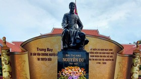 The special national relic site for great poet Nguyen Du in Nghi Xuan District,Ha Tinh Province