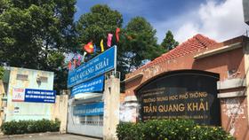 Tran Quang Khai High School in District 11