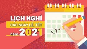 Vietnam's Public Holidays in 2021