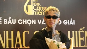 De Choat, winner of the first season of Rap Viet competition seeking talented rappers in 2020