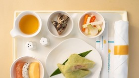 VNA to serve Tet traditional foods on local flights