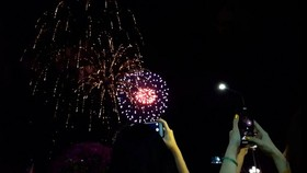2020 Tet firework show in Can Tho City
