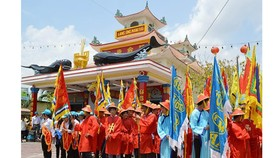 Ca Mau's Song Doc Nghinh Ong Festival recognized as national intangible heritage