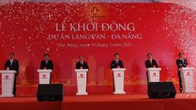 At the groundbreaking ceremony (Photo: SGGP)