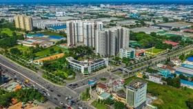 A corner of Vietnam-Singapore Industrial Park in Binh Duong (Photo: VNA)