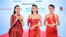 Members of the jury of the 2021 Miss Fitness Star Vietnam