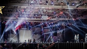 """The country's leading rappers participate in """"Rap Viet All-Stars"""" concert."""