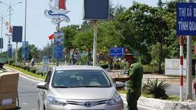 A Covid-19 control station in Da Nang City  (Photo: SGGP)