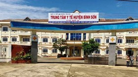 The unit 2 of the Binh Son District's Health Center is one of the centralized quarantine facilities in Quang Ngai Province. (Photo: SGGP)