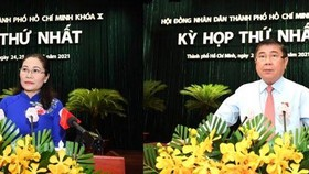 Top leaders of HCMC People's Council, People's Committee re-elected