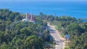 A view of part of Phu Quoc island city in Kien Giang province (Photo: VNA)