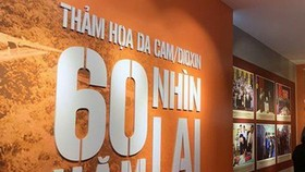 Exhibition marking 60 years of the Agent Orange/dioxin disaster opens in Hanoi