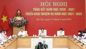 Prime Minister Pham Minh Chinh speaks at the conference (Photo: VNA)