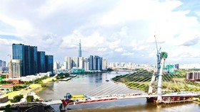 Many major projects in HCMC have been completed in rush amid complicated Covid-19 situation. (Photo: SGGP)