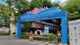 HCMC Book Street (Photo: SGGP)