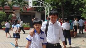 Thí sinh tham dự kỳ thi khảo sát năng lực vào lớp 6 Trường THPT chuyên Trần Đại Nghĩa năm học 2018-2019 tại điểm thi Trường THCS Trần Văn Ơn (quận 1)