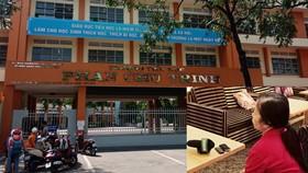 Vụ đánh, véo tai học sinh lớp 2 tại quận Tân Phú: Giáo viên xuất hiện trong clip nói gì?