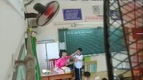 Buộc thôi việc cô giáo đánh, véo tai học sinh ở quận Tân Phú