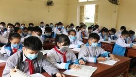 TPHCM khảo sát ý kiến phụ huynh về việc học sinh đeo khẩu trang khi đến trường