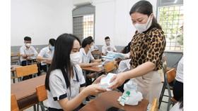 TPHCM: Trường học đảm bảo an toàn cho học sinh khi trở lại trường sau thời gian nghỉ học vì dịch Covid-19