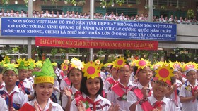 """TPHCM đề xuất 2 """"kịch bản"""" tổ chức lễ khai giảng năm học mới"""