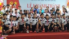 Quận 3 khánh thành Trường Tiểu học Nguyễn Sơn Hà