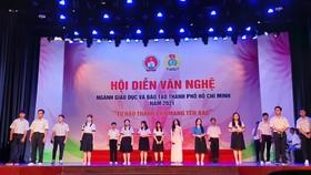 58 tiết mục tham gia hội diễn văn nghệ ngành giáo dục TPHCM 2021