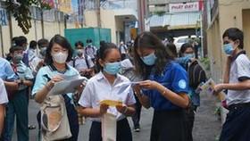 TPHCM: Thí sinh thực hiện khai báo y tế vào tất cả ngày diễn ra kỳ thi