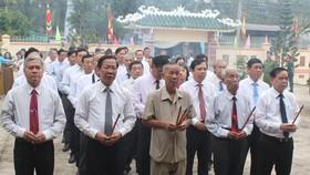 Kỷ niệm 110 năm ngày mất nhà thơ yêu nước Phan Văn Trị