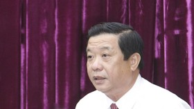 Đồng chí Bùi Văn Nghiêm giữ chức Bí thư Tỉnh ủy Vĩnh Long nhiệm kỳ 2020 - 2025