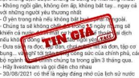 Trà Vinh phạt 2 người đăng thông tin sai sự thật lên mạng xã hội