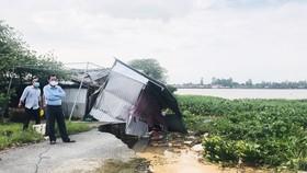 Bến Tre: Sạt lở nghiêm trọng ở cồn Phú Đa