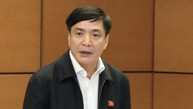 Tổng Thư ký, Chủ nhiệm Văn phòng Quốc hội Bùi Văn Cường