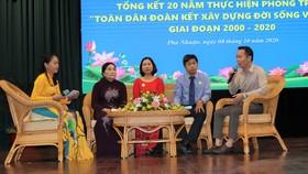 Giao lưu với các điển hình thực hiện tốt phong trào xây dựng văn hóa trên địa bàn quận Phú Nhuận
