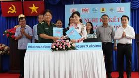 Hội LHPN TPHCM ký hợp tác cùng Bộ đội Biên phòng TPHCM