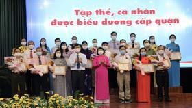 Các tập thể được tuyên dương học tập Bác ngày 28-4