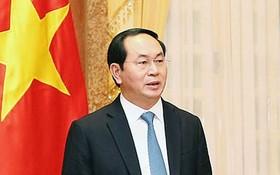 國家主席陳大光。(資料圖:互聯網)