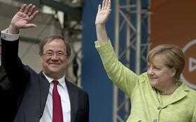 基民盟拿下人口最多的北萊茵-西發利亞邦,使得總理梅克爾聲勢看漲。(圖源:互聯網)