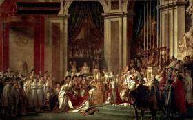 該幅巨作是大衛受拿破崙委託於1805年12月21日開始創作,歷時近兩年於1807年11月完成。(圖源:互聯網)