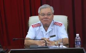 圖為政府總監察長潘文六。(資料圖來源:互聯網)