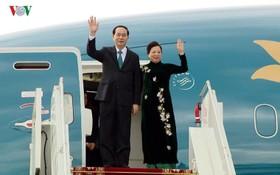 國家主席陳大光圓滿結束對俄羅斯與白俄羅斯訪問行程。(圖源:VOV)